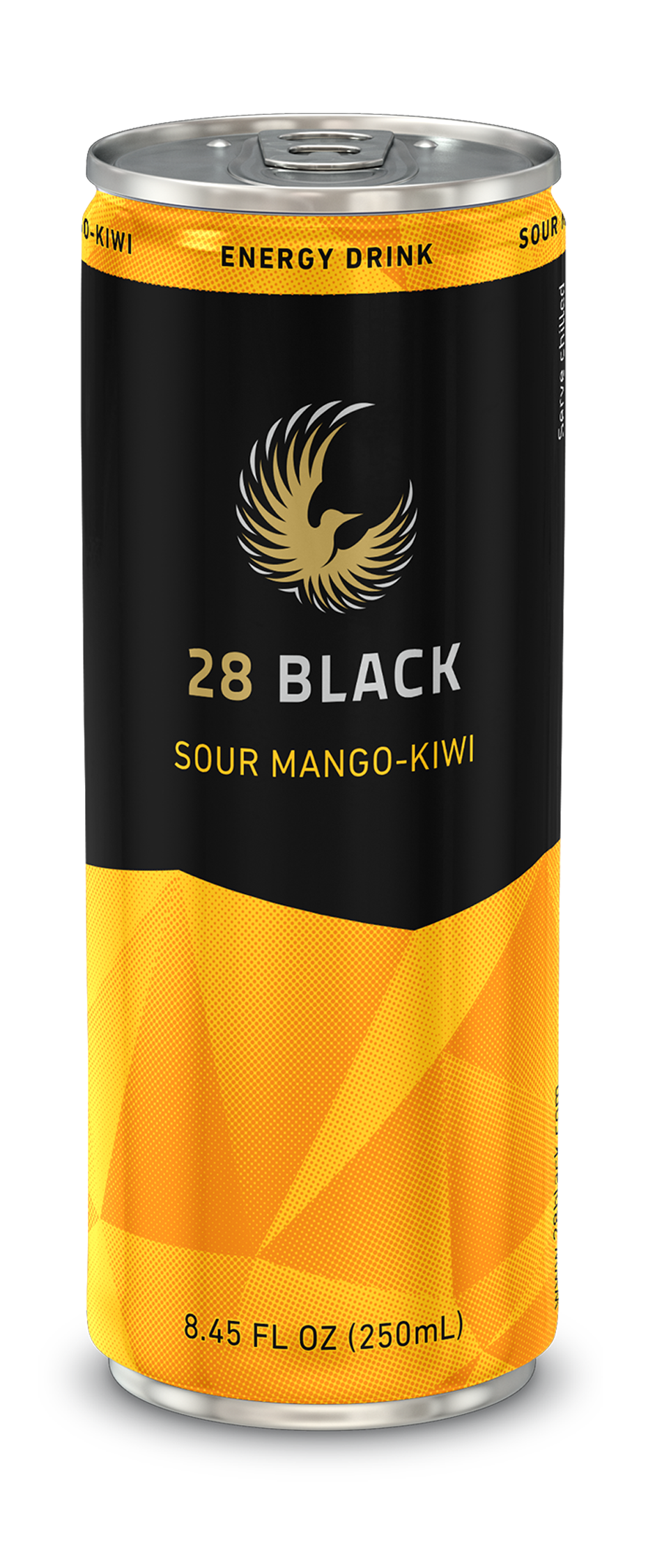 Rock Solid - 28 BLACK Energy Drink Southeast Distributors